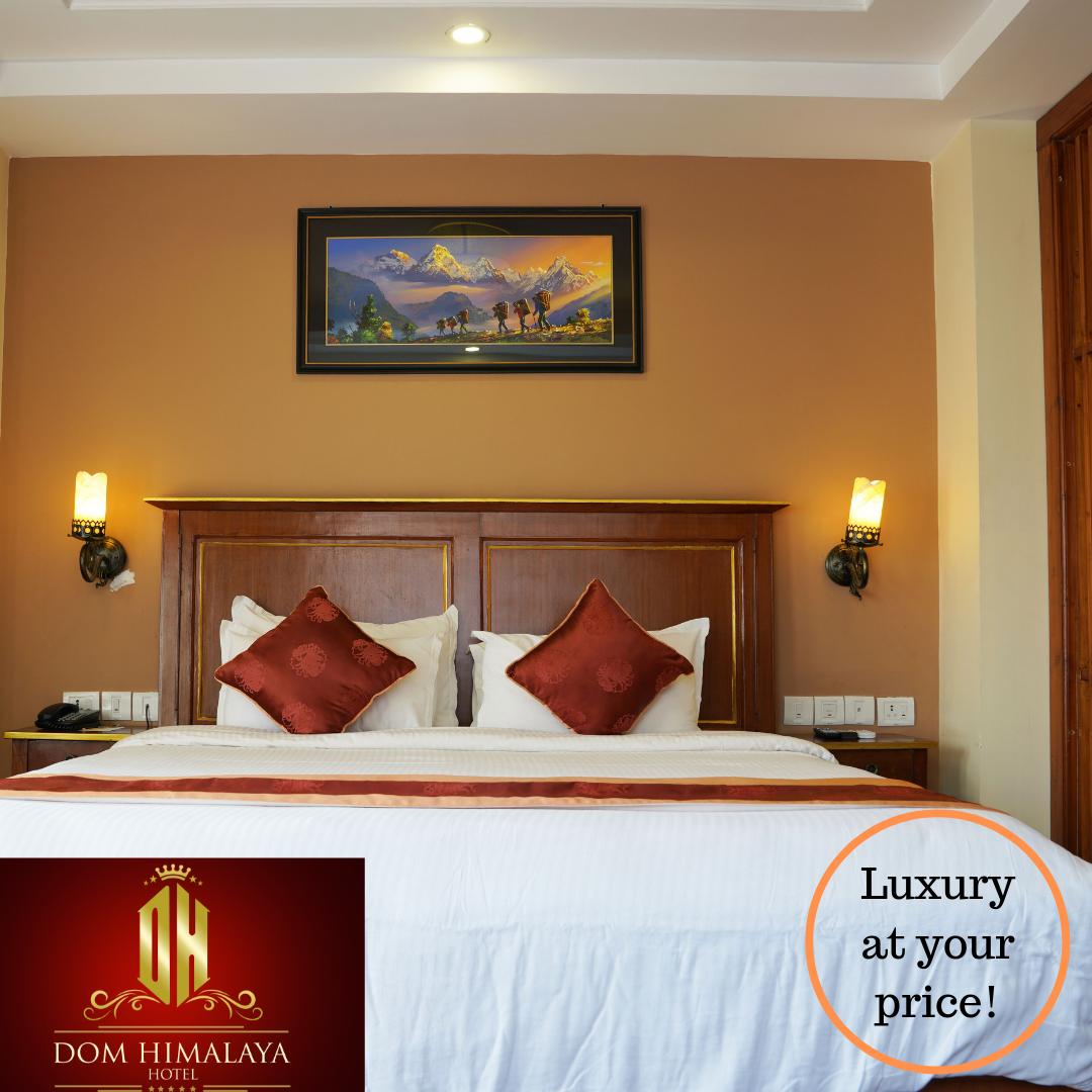 Why Dom Himalaya is the best budget hotel in Kathmandu?